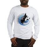 Long Sleeve T-Shirt with Front and Back Images