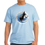 Light T-Shirt with Front and Back Images-3 Colors