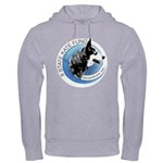 Hooded Sweatshirt with Front and Back Images