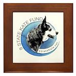 Framed Tile with 8 State Kate Fund Logo