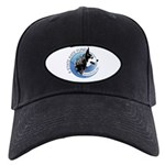 Black Cap with 8 State Kate Fund Logo