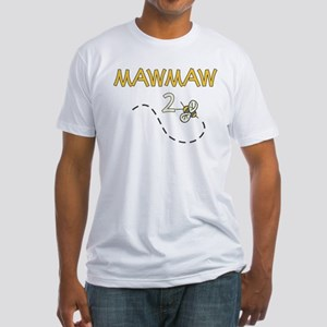 MawMaw to Be (Bee) Fitted T-Shirt