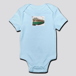 Waterfront Streetcar<br> Infant Creeper