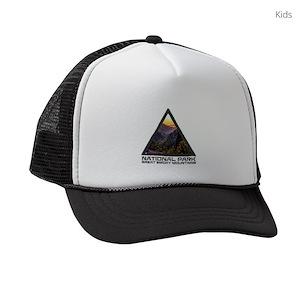 92106f496fb Smoky Mountains Kids Trucker Hats - CafePress