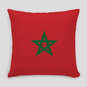 Flag: Morocco Everyday Pillow