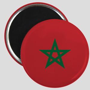 Flag: Morocco Magnet