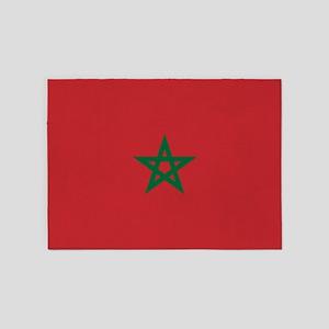Flag: Morocco 5'x7'Area Rug