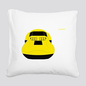 Call the Doctor Square Canvas Pillow