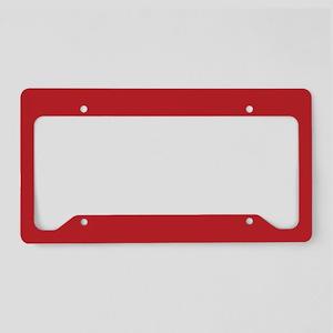Flag: Morocco License Plate Holder