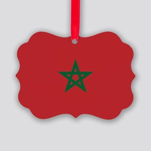Flag: Morocco Picture Ornament