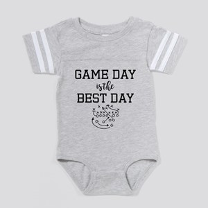 Game Day is the Best Day Baby Football Bodysuit
