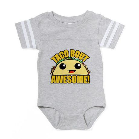 Body Suit Baby Bodysuit CafePress Taco Bout it