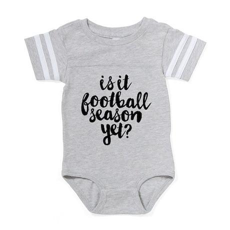 Is It Football Season Yet Baby Football Bodysuit