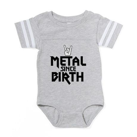 324164889 CafePress Metal Since Birth Baby Tutu Bodysuit