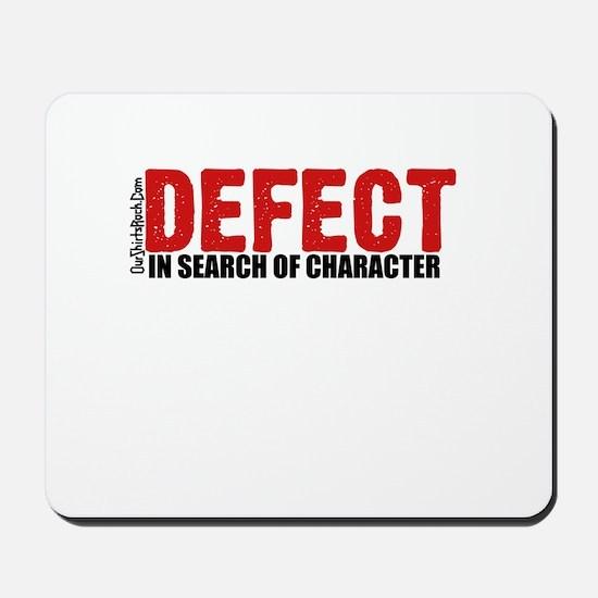 Defect.. Mousepad