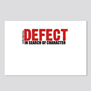Defect.. Postcards (Package of 8)