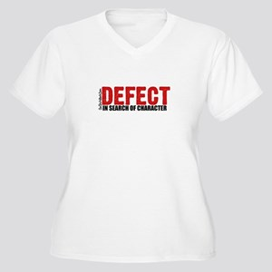 Defect.. Women's Plus Size V-Neck T-Shirt