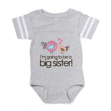 MASTER whimsy birds back Baby Football Bodysuit