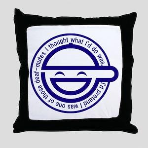 Warai Otoko Throw Pillow