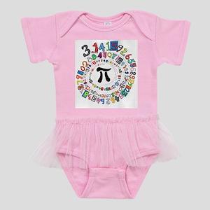 Pi sPiral Baby Tutu Bodysuit