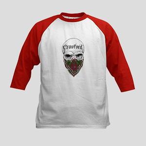 Crawford Tartan Bandit Kids Baseball Jersey