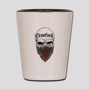 Crawford Tartan Bandit Shot Glass