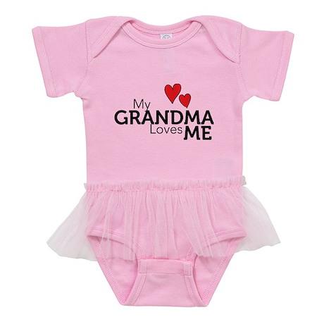 MyGrandmaLovesMe Baby Tutu Bodysuit