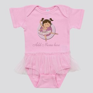 Cute Personalized ballerina Baby Tutu Bodysuit