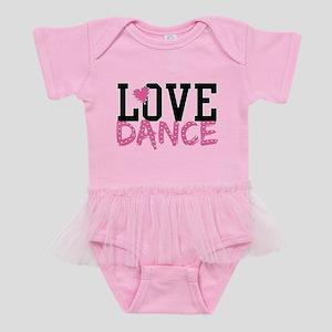 LOVE DANCE Baby Tutu Bodysuit