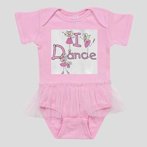 IDANCEGIRLBALLERINA Baby Tutu Bodysuit