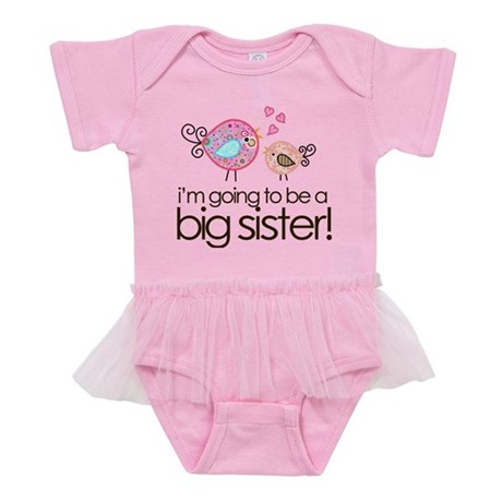 MASTER whimsy birds back Baby Tutu Bodysuit