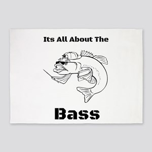 It's All about the Bass 5'x7'Area Rug