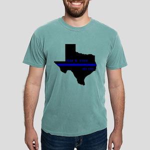 Thin Blue Line Back The Blue Texas T-Shirt
