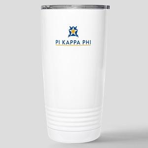 Pi Kappa Phi Logo 16 oz Stainless Steel Travel Mug