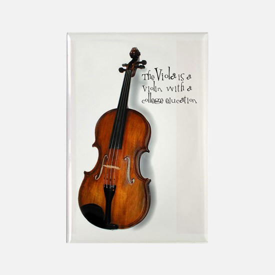 The Glorious Viola Rectangle Magnet