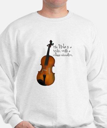 The Glorious Viola Sweatshirt