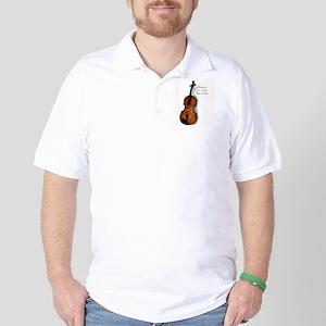 The Glorious Viola Golf Shirt