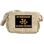 VEGETARIANS.jpg Messenger Bag