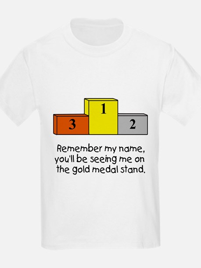 Remember My Name Kids T-Shirt