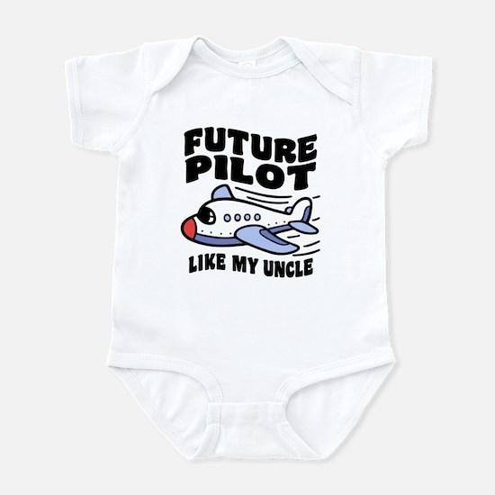 Future Pilot Like My Uncle Infant Bodysuit