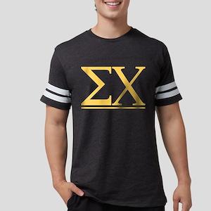Sigma Chi Letters Mens Football Shirt
