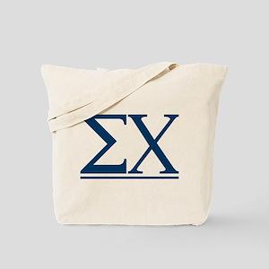 Sigma Chi Letters Tote Bag