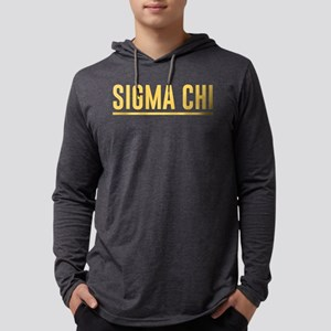 Sigma Chi Mens Hooded Shirt