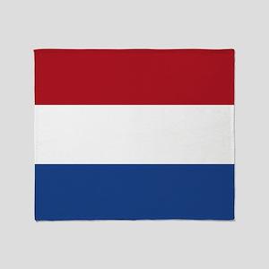Flag: Netherland Throw Blanket