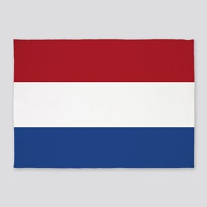 Flag: Netherland 5'x7'Area Rug