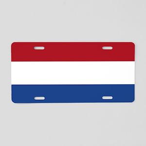 Flag: Netherland Aluminum License Plate
