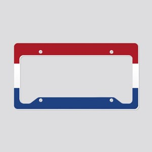 Flag: Netherland License Plate Holder