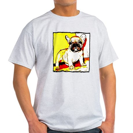 French Bulldog Art Light T-Shirt