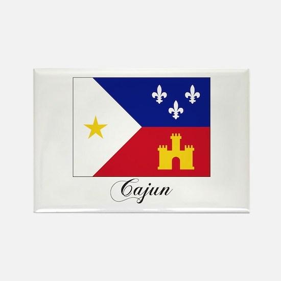 Cajun Flag Rectangle Magnet