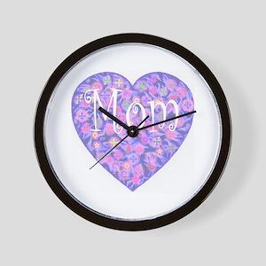 LOVE Mom Wall Clock